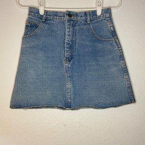 Jordache Women's Vintage Denim Skirt Size 7